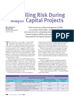 Controlling Risk During Major Capital Projects 4-09