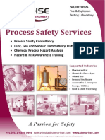 Sigma-HSE India Services Brochure