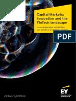EY Capital Markets Innovation and the Fintech Landscape