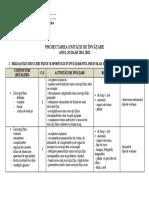 Proiectarea unitatilor de invatare Metodica EFS - cls XI.doc