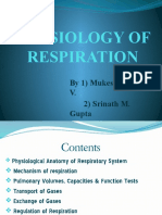 d Physiology of Respiration