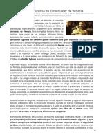 Shakespeare y la justicia en El mercader de Venecia