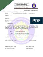 surat undangan rapat dosen