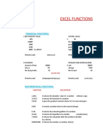 Functions of EXCEL for Corporate Finance.xlsx