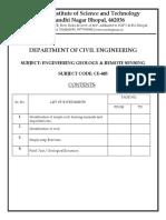 EGRS Lab Manual