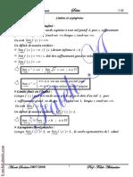 Série d'exercices Math - Limites et asymptotes - 3ème Math (2007-2008) Mr Abdessatar El Faleh