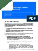 Información sobre la moratoria hipotecaria - Banco Sabadell
