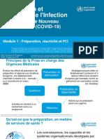 Formation sur la PCI - Coronavirus - Module 1