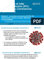 Formation sur la PCI - Coronavirus - Module 2