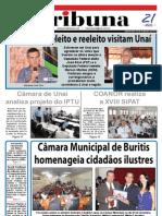JORNAL TRIBUNA - EDIÇÃO 278 - DEZEMBRO DE 2010 - UNAÍ-MG