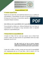 Apostila - Civil - Responsabildade Civil