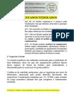 Apostila - Constitucional -  Dos Estados