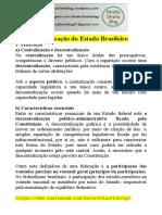 Apostila - Constitucional -  Organização do Estado