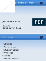 Presentación Trabajo Final Carrera Filtrado Web