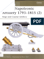 British napoleonic artillery 1793-1815 Vol 2 siege and naval fortress-Chris Henry-Men at arms