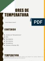 Mediddores de temperatura
