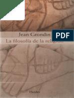 Grondin Jean - La esencia de la religión