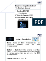 Microprocessor Lecture 34 20200330
