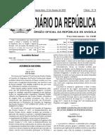 LEI 1 SOBRE DESIGNAÇÃO DOS  ACTOS INTERNACIONAIS  2012