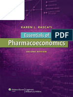 Essential of Pharmacoeconomics