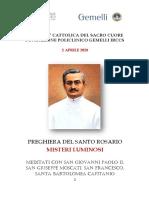 Libretto Rosario Cappella Moscati Gemelli 2 IV 2020