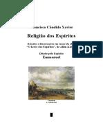 Ano - Religiao dos Espiritos - Chico Xavier.doc