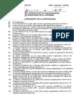 Reorganisation Armee Camerounaise