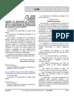 loi 2019 modifiant CSC