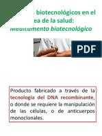 Clase 2 - Medicamento Biotecnológico