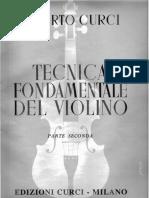 Curci - Tecnica Fondamentale del Violino - Parte II.pdf