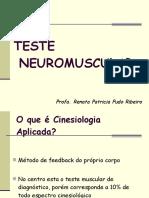 teste neuromuscular