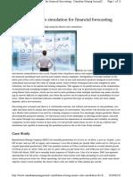 Using Monte Carlo simulation for financial forecasting - Canadi