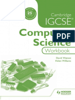 Igcse Computer Science Workbook