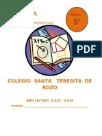 MATEMATICA Y GEOMETRÍA 5°.docx