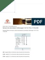 Auto Elétrica Querência_ Sensor de velocidade Volkswagen 13_15.170 e 17_23.250