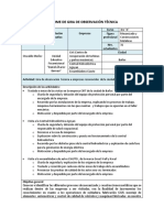INFORME DE GIRA DE OBSERVACIÓN TÉCNICA
