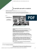 O manifesto de oposição que pede a renúncia de Bolsonaro _ Nexo Jornal