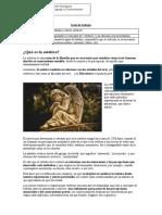 Guía de trabajo 1-  III medio efecto estético