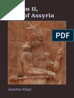 Sargon II, King of Assyria ( PDFDrive.com )