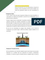 MECANISMO DE RECUPERACIÓN DE HIDROCARBUROS