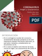 Coronavirus, Orígen y Características PPT PDF