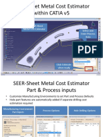 SEER-Sheet Metal Cost Estimator Overview