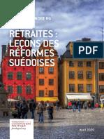 Etude Lundberg Kristoffer Fondapol Retraites Suede 2020-01-04