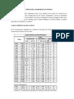 PRESIONES ADMISIBLES EN MUROS