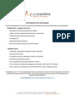 Recrutamento Área da Recepção CFAC