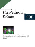 List of schools in Kolkata - Wikipedia.pdf