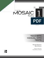 Mosaic 1 __ Reading __ 6th Ed __ Teacher's Manual (Part 1)