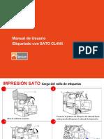 Manual de Usuario Impresora SATO RFID
