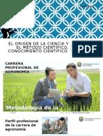 Historia de la investigación aplicado a ciencias agrarias