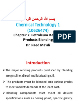 Petoleum Refining Product Blending 7